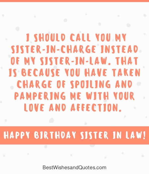 Quotes For My Sister In Law: 14 Best Birthday Wishes, Messages And Quotes Images On