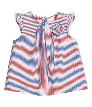 cotton blouse | H&M US