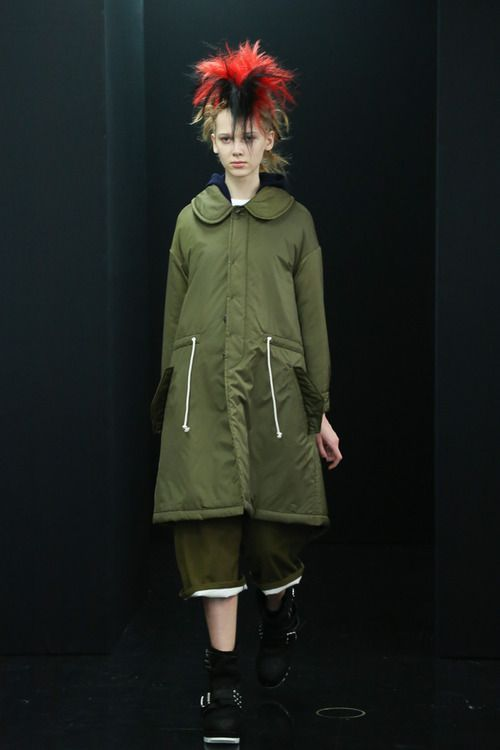 [No.61/73] tricot COMME des GARÇONS 2013~14秋冬コレクション   Fashionsnap.com