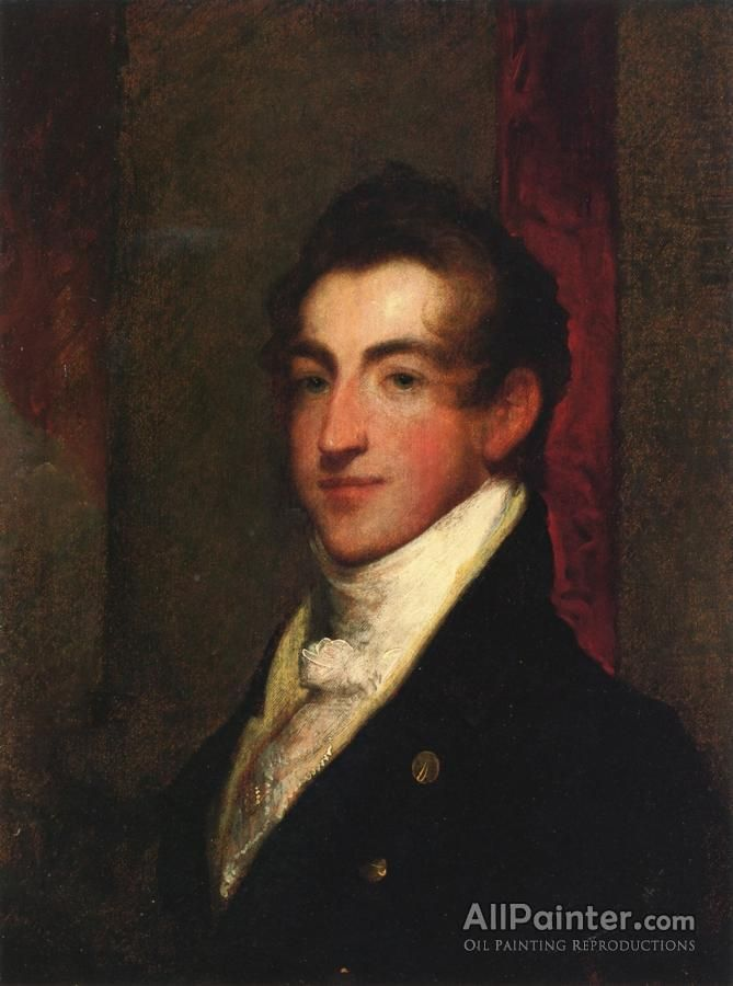 Gilbert Stuart,Portrait Of A Gentleman oil painting reproductions for sale