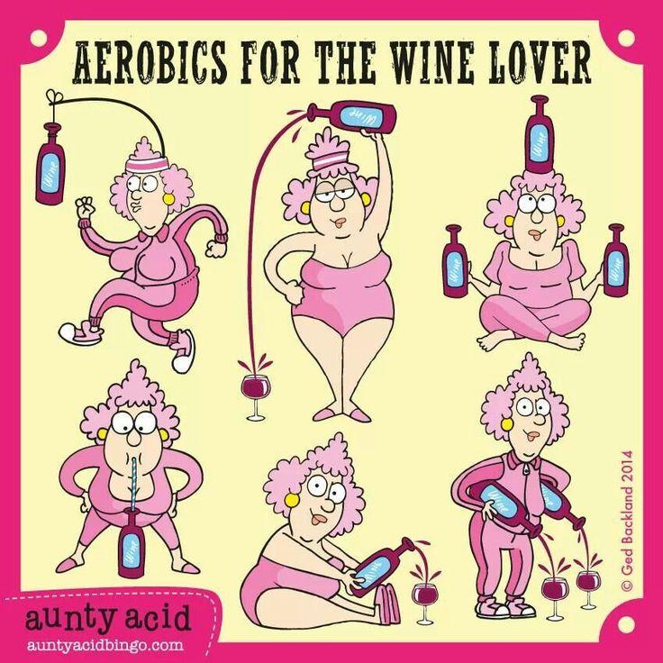 Aerobics for the wine lover  Beso de Vino