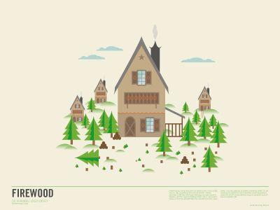 Firewood by Henning Gjerde