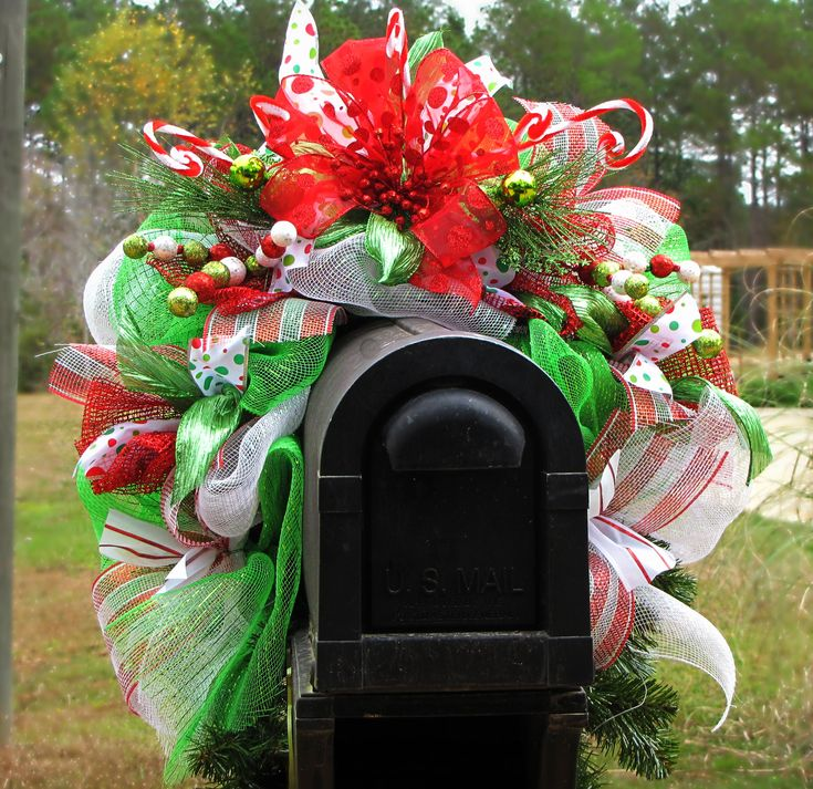 My mailbox swag