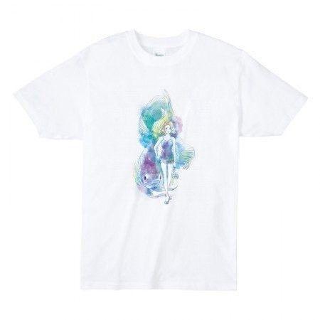オリジナルイラストTシャツです。裏面は無地です。※画像はレディースのイメージです。<詳細>プリント/インクジェット布色/白サイズ【メンズ】M /着丈72 身巾...|ハンドメイド、手作り、手仕事品の通販・販売・購入ならCreema。