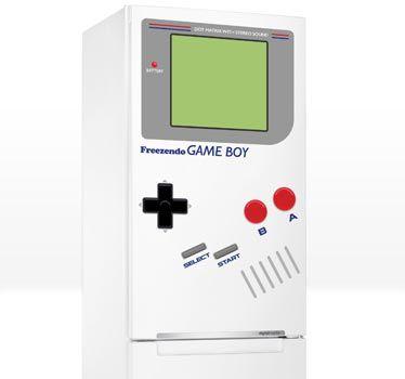 Sticker frigo Game Boy