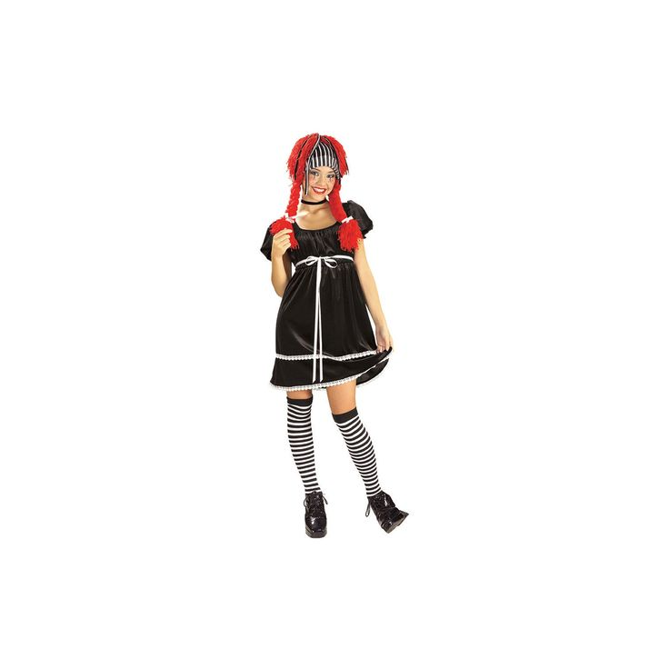 Halloween Women's Rag Doll Costume - X-Small, Size: XS, Multi-Colored