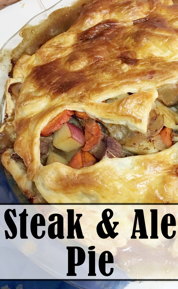 Steak Amp Ale Pie