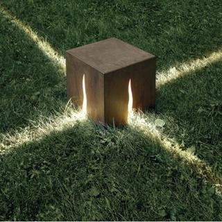 PAM - verlichting - Lampe de sol d'extérieur Granito - marron