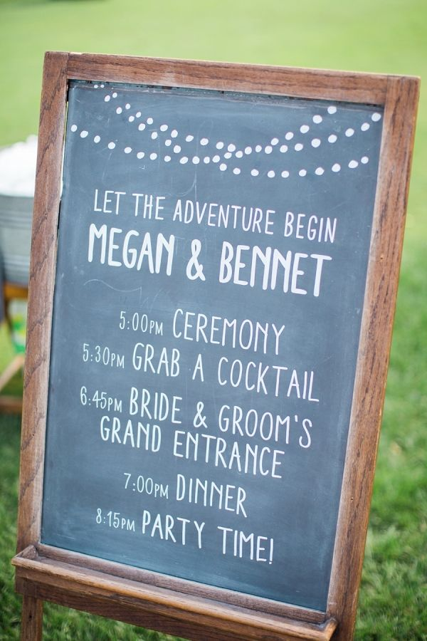 Let the adventure begin! http://www.stylemepretty.com/wisconsin-weddings/middleton-wisconsin/2015/09/14/rustic-romantic-garden-inspired-wisconsin-wedding/ | Photography: Booth Photographics - http://boothphotographics.com/
