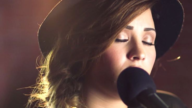 Demi Lovato - Give Me Love Cover. Originally by Ed Sheeran. Seriously. this cover is beautiful and emotional and just fabulous.