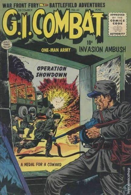 Silver and Bronze Age Subjects: DC Big 5 War Comics: G I Combat