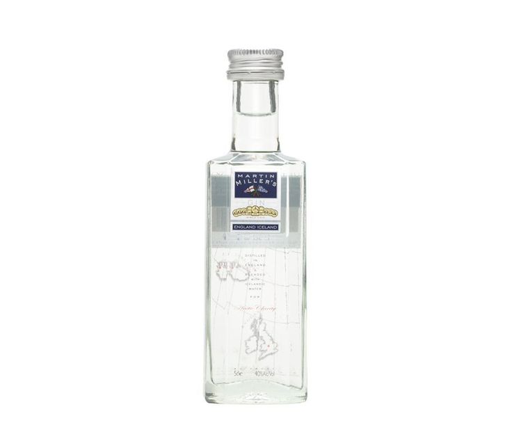 Ginebra Martin Miller's Miniatura ● Fruto del amor, la obsesión y un toque de locura, así es Martin Miller's, una ginebra premium elaborada con 10 botánicos cuidadosamente seleccionados que se mezcla con agua pura de Islandia, todo un exclusivodetalle.Unaginebra excepcionalmente suave, sedosa y floral, única, extravagante y moderna que nos asegura un Gintonic perfecto.  - , #Gin #Premium. En www.rincondellicor.com #NoLoOlvides