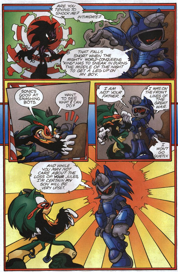 Sonic The Hedgehog #192 This is why Sonic's so fiercely against backing down...
