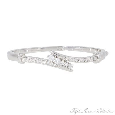 Rhodium Bracelet - Winter Beauty - Australia - Fifth Avenue Collection - Jewellery that changes the way you see fashion