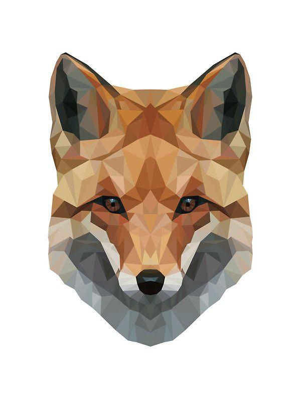 Geometric Fox by EthanRowett
