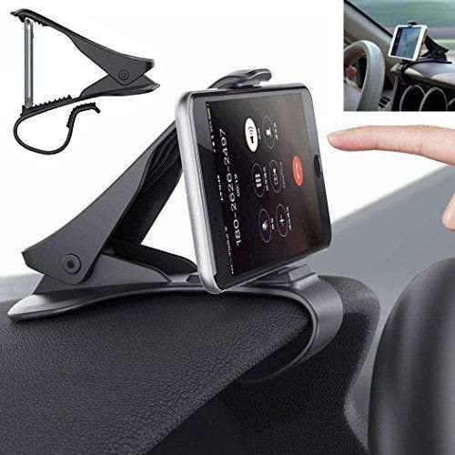 Hkfv support de voiture support de fixation pour tableau de bord de voiture universel Motif Cradle pour téléphone portable GPS:…
