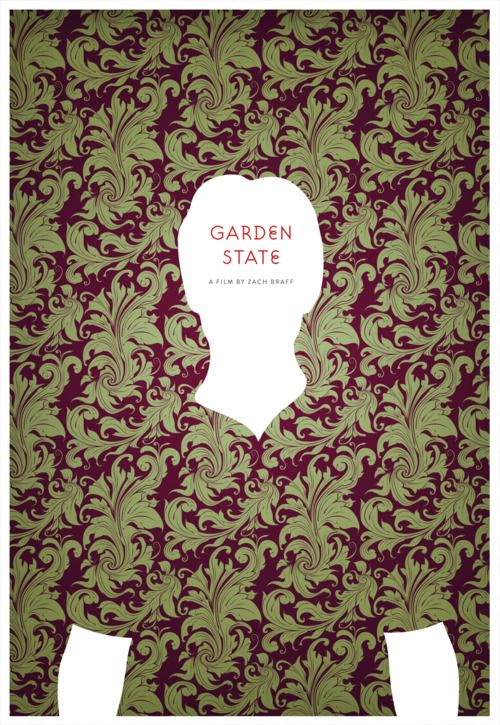 Garden State by Craig Bradley: Film, Minimalist Movie Posters, States Posters, Art, Posters Design, Gardens States Movie, Craig Bradley, Favorite, Minimal Movie Posters