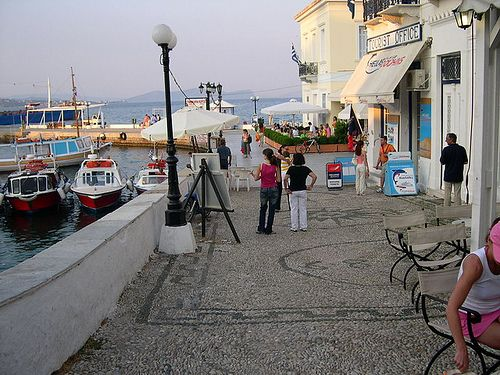 Spetses,HELLAS. a beautiful little island with real original charm..