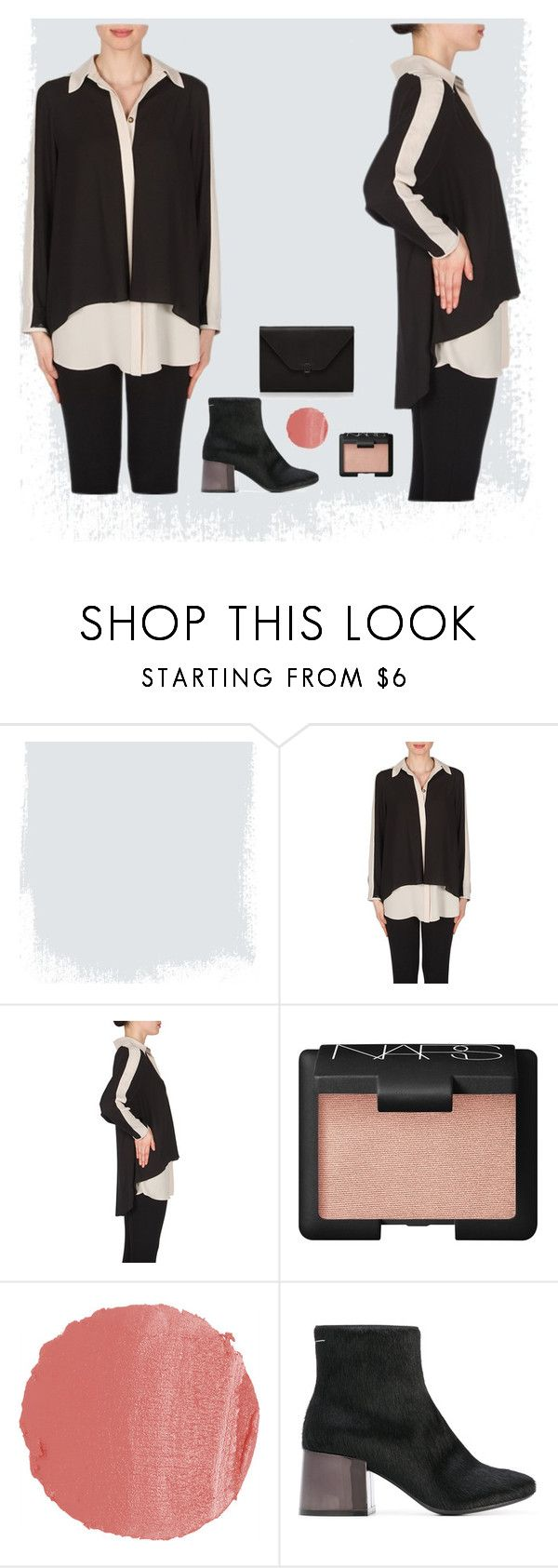 """Dinner Date"" by wardrobefashionperth on Polyvore featuring NARS Cosmetics, MM6 Maison Margiela and Valextra"