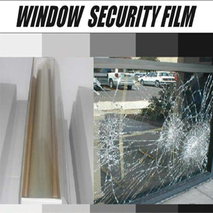 5ftx50ft Safety film safety film for glass building window safety film - Explosion Proof Film Anti rob and bomb Size 1.52mx15m