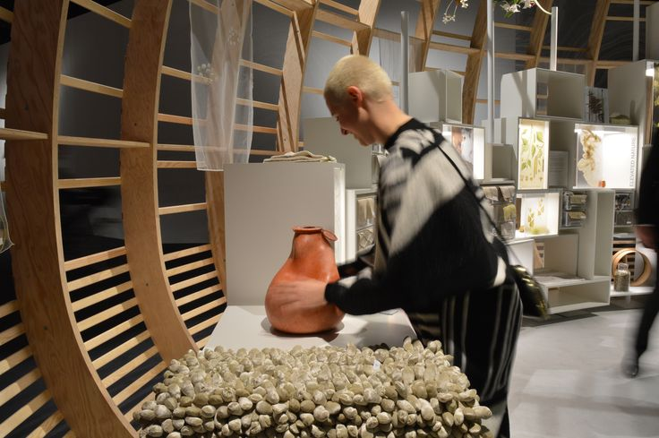 Make&Mold sculpt vase | @Heimtextil Theme Park 2016 | Curated bu WGSM | picture by Urszula Kałużna