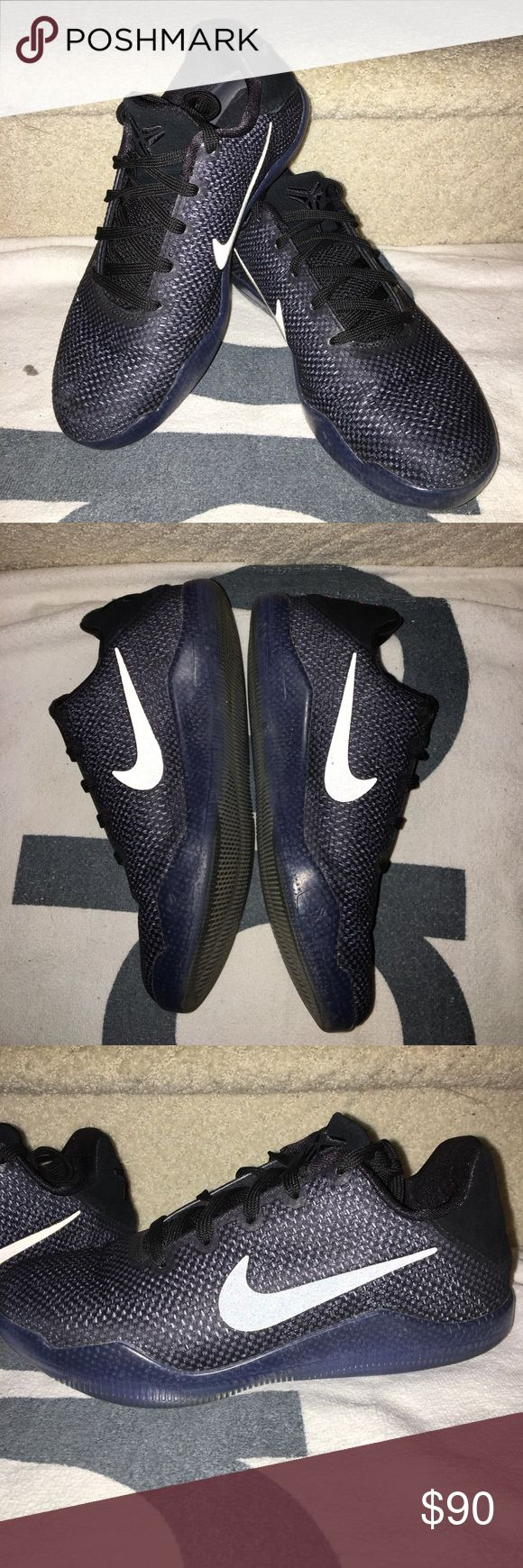 Kobe 11 Elite Low Black Space Youth basketball shoe size 4youth. Worn a few times but still great condition. I thought the size was good for me and I love this shoe, it's just too small for me. Nike Shoes Sneakers