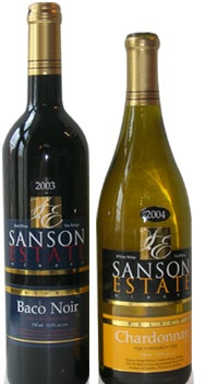 Sanson Estate Winery was established in 1997. Centrally located & just a short drive from Windsor, Ontario & Detroit, Michigan, we are the 2nd stop on the Essex County Wine Trail.