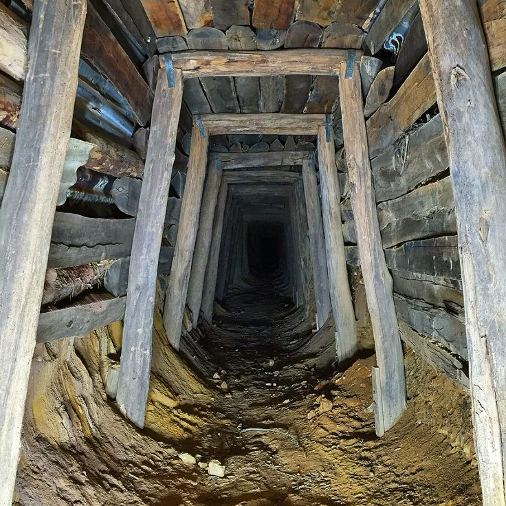 Disused mine at Talbot #mines #Talbot #Victoria #underground #abandoned #disused #goldmine #goldrush