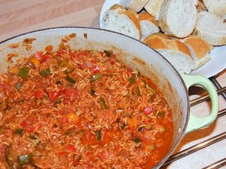 5:2 Diet - One Pot Southern-Style Rice
