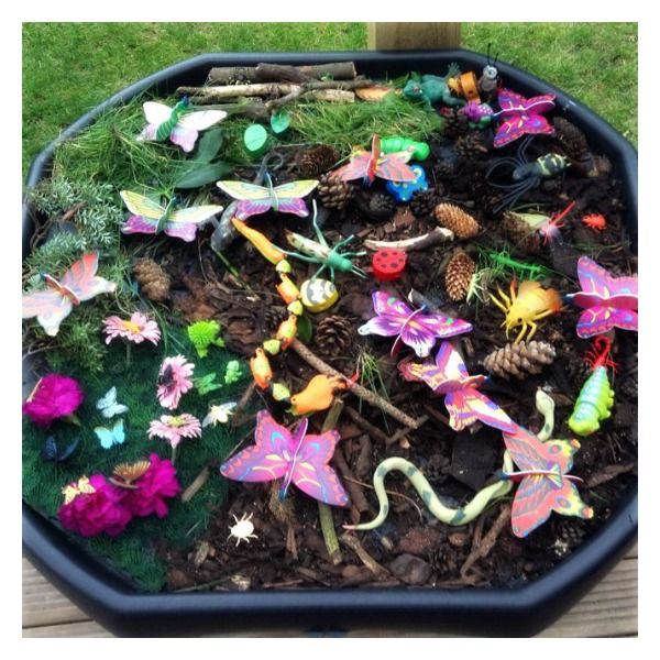 Small World Tuff Trays For Kids - Learning and Exploring Through Play
