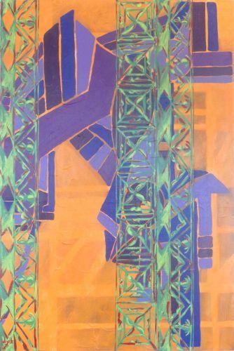 Peer Under Acrylic on canvas