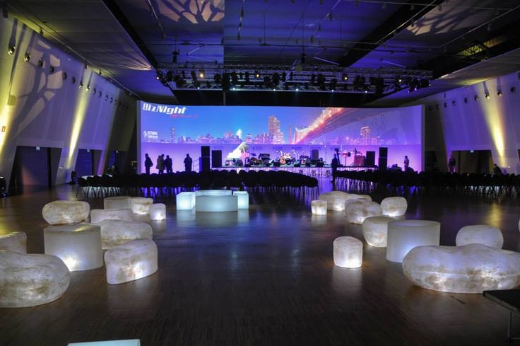 """New look of Fiera Milano City, we are ready for the """"biz night"""" #location #night #atmosphere #light #event"""