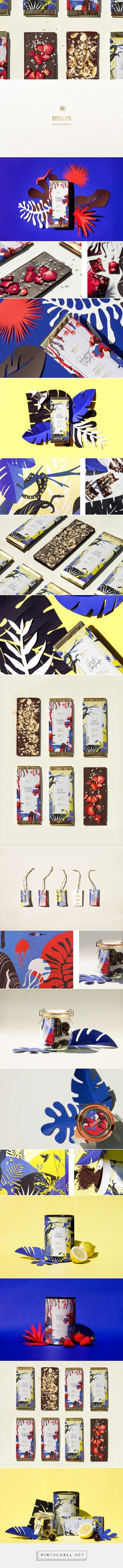 Mum Chocolate Factory Branding and Packaging by Alessia Sistori   Fivestar Branding Agency – Design and Branding Agency & Curated Inspiration Gallery