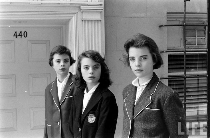 by Nina Leen, for Life Magazine, 1956. From Tomboy Style. Kind of creepy.