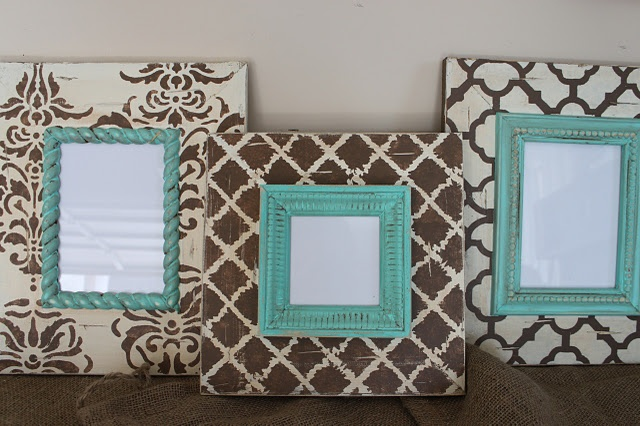 Cute framesBrown And Coral Bedrooms, Cream And Turquoise Bedrooms, Wall Hanging, Brown And Turquoise Bedrooms, Living Room, Master Bedrooms, Distressed Frames, Pictures Frames, Bedrooms Ideas