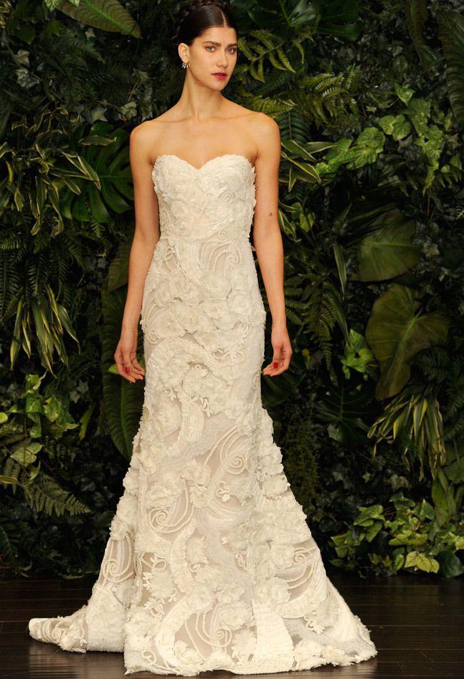 Naeem Khan Fall/ Winter 2014 Wedding Dresses - Stunning intricate details.