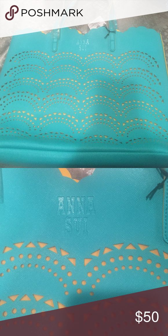 Anna Sui tote bag Brand new. Never opened or used Anna Sui Bags Totes