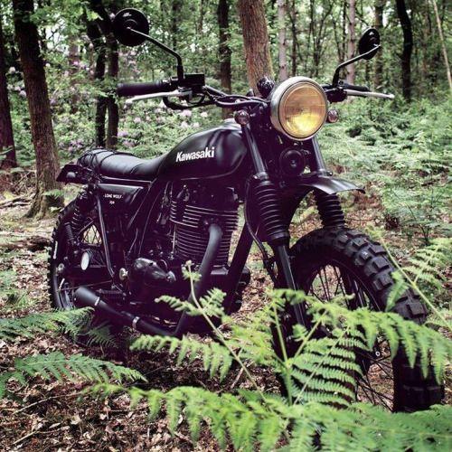 motomood: Kawasaki 250 by Mutt Motorcycles  motomood:  Kawasaki 250 by Mutt Motorcycles