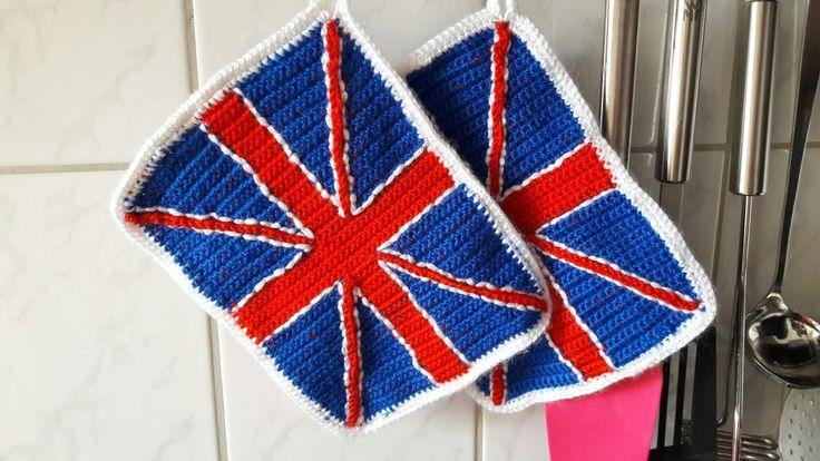 Topflappen für alle Großbritannien Fans.