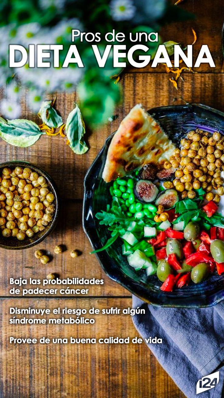 Si deseas comenzar con este plan, debes conocer sus beneficios #Dieta #Vegana #Diets #Tips #Saludable