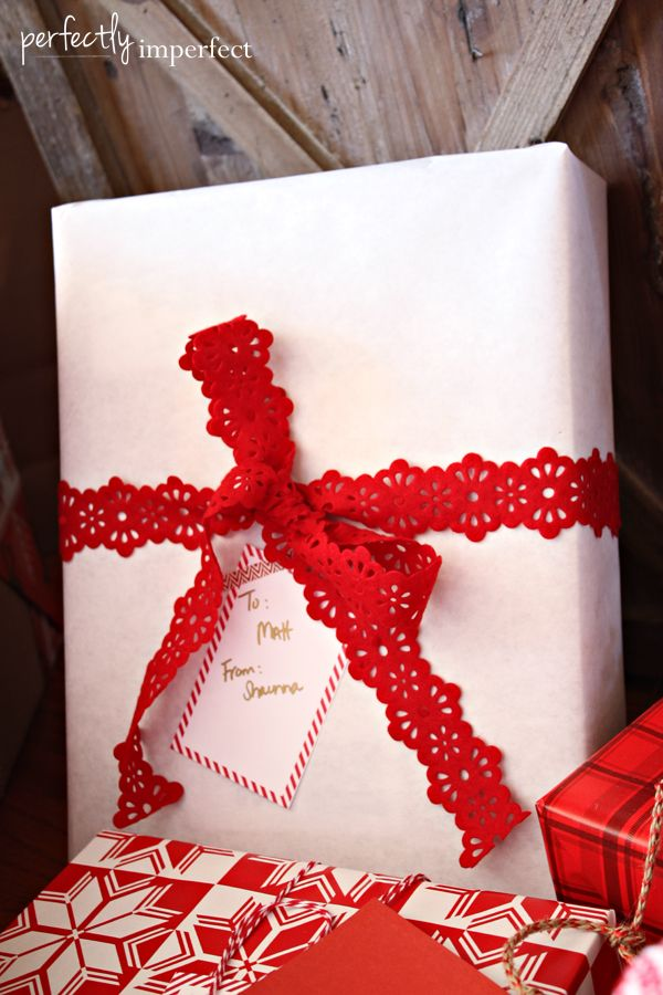 Simple Gift Wrapping Ideas | Perfectly Imperfect