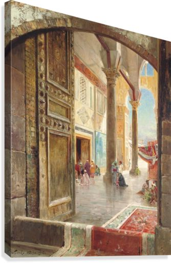 The Great Umayyad Mosque, Damascus - Carl Wuttke - Canvas