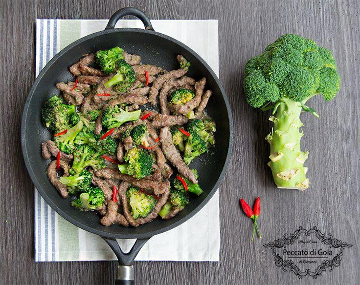 Straccetti+di+manzo+coi+broccoli