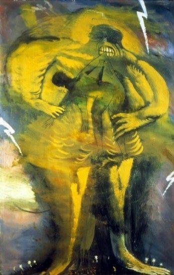 <em>Nikolay Berezkin's death</em>, 1989