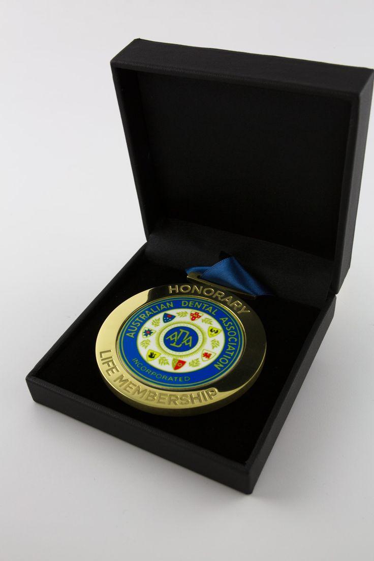 Australian Dental Association bespoke medallion | Design Awards