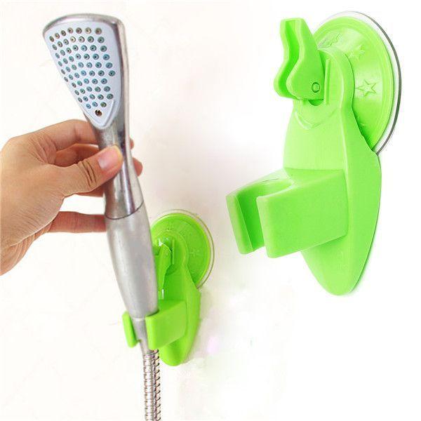 Bathroom Strong Attachable Shower Head Holder Movable Bracket #ShowerHeads