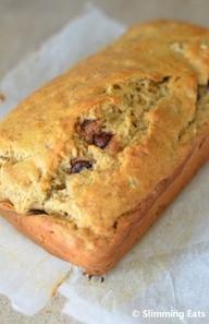 Banana and Chocolate Chip Loaf | Slimming Eats - Slimming World Recipes