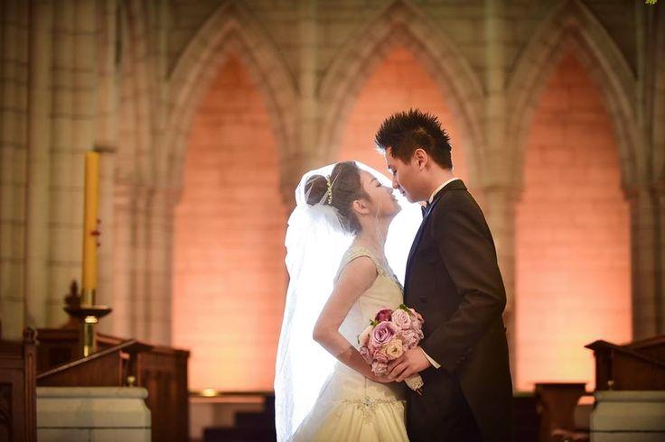 The pre-wedding photos of the new couple - who married #weddingphotographer JIS Image Studio