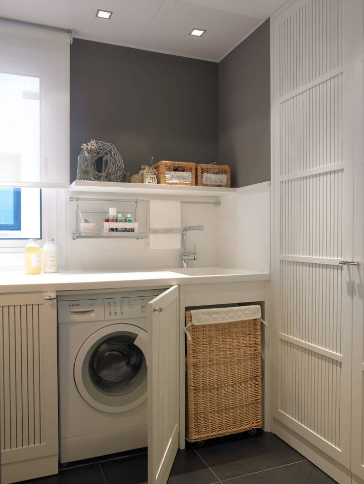 fotos de cocinas de estilo moderno lavadora integrada