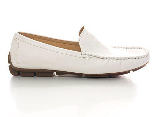 Herren Sport Mokassin Slipper Yachtschuhe Weiß # 906 - http://on-line-kaufen.de/chice-schuhe/herren-sport-mokassin-slipper-yachtschuhe-weiss